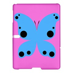 Pink Blue Butterfly Animals Fly Samsung Galaxy Tab S (10.5 ) Hardshell Case
