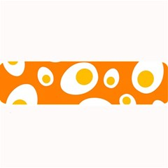 Orange Circle Egg Large Bar Mats