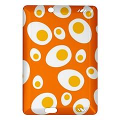 Orange Circle Egg Amazon Kindle Fire HD (2013) Hardshell Case