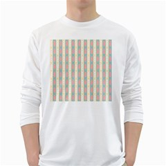 Rabbit Eggs Animals Pink Yellow White Rd Blue White Long Sleeve T-Shirts