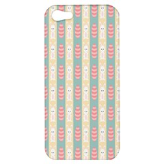 Rabbit Eggs Animals Pink Yellow White Rd Blue Apple iPhone 5 Hardshell Case