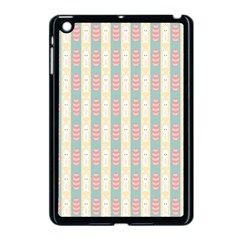 Rabbit Eggs Animals Pink Yellow White Rd Blue Apple iPad Mini Case (Black)