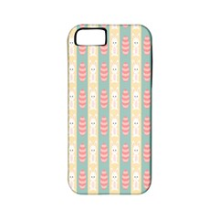 Rabbit Eggs Animals Pink Yellow White Rd Blue Apple iPhone 5 Classic Hardshell Case (PC+Silicone)