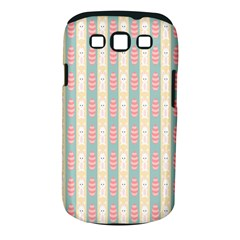 Rabbit Eggs Animals Pink Yellow White Rd Blue Samsung Galaxy S Iii Classic Hardshell Case (pc+silicone)