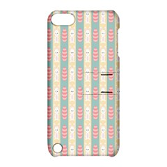Rabbit Eggs Animals Pink Yellow White Rd Blue Apple iPod Touch 5 Hardshell Case with Stand