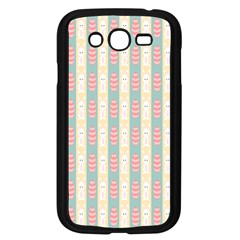 Rabbit Eggs Animals Pink Yellow White Rd Blue Samsung Galaxy Grand DUOS I9082 Case (Black)