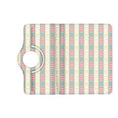 Rabbit Eggs Animals Pink Yellow White Rd Blue Kindle Fire HD (2013) Flip 360 Case
