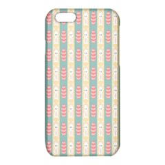 Rabbit Eggs Animals Pink Yellow White Rd Blue iPhone 6/6S TPU Case
