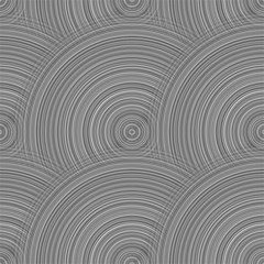 Circular Brushed Metal Bump Grey Magic Photo Cubes
