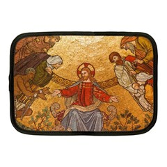 Gold Jesus Netbook Case (Medium)