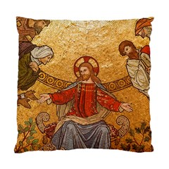 Gold Jesus Standard Cushion Case (Two Sides)