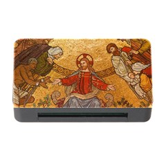Gold Jesus Memory Card Reader with CF