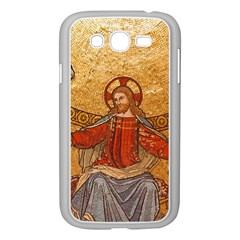 Gold Jesus Samsung Galaxy Grand DUOS I9082 Case (White)