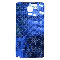 Blue Sequins Galaxy Note 4 Back Case