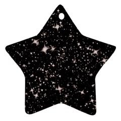 Black Stars Ornament (Star)