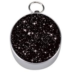 Black Stars Silver Compasses