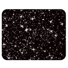 Black Stars Double Sided Flano Blanket (Medium)