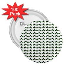 Shamrock 2.25  Buttons (100 pack)