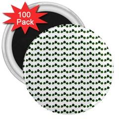 Shamrock 3  Magnets (100 pack)