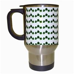 Shamrock Travel Mugs (White)