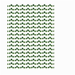 Shamrock Small Garden Flag (Two Sides)
