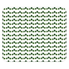Shamrock Double Sided Flano Blanket (Small)