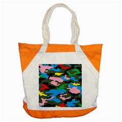Rainbow Camouflage Accent Tote Bag