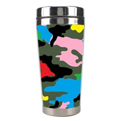Rainbow Camouflage Stainless Steel Travel Tumblers