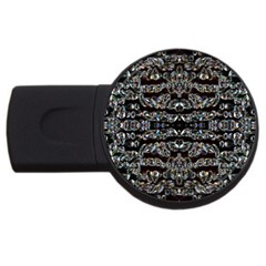 Black Diamonds USB Flash Drive Round (1 GB)