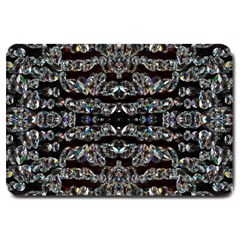 Black Diamonds Large Doormat