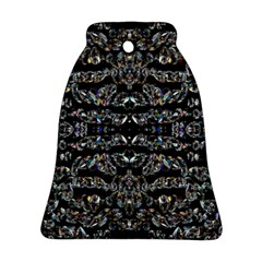 Black Diamonds Bell Ornament (Two Sides)