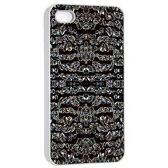 Black Diamonds Apple iPhone 4/4s Seamless Case (White)