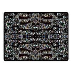 Black Diamonds Double Sided Fleece Blanket (Small)