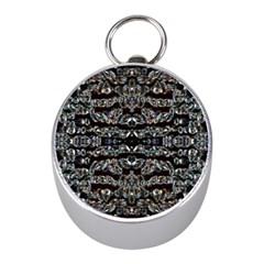 Black Diamonds Mini Silver Compasses