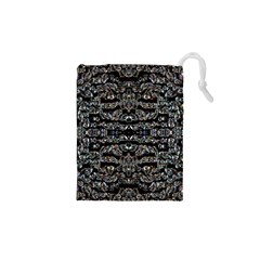 Black Diamonds Drawstring Pouches (XS)