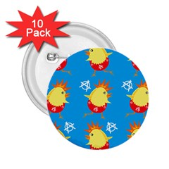 Easter Chick 2.25  Buttons (10 pack)
