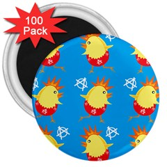 Easter Chick 3  Magnets (100 pack)