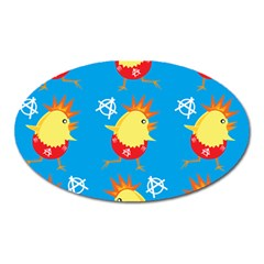 Easter Chick Oval Magnet