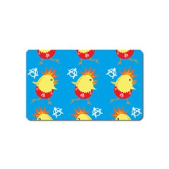 Easter Chick Magnet (Name Card)
