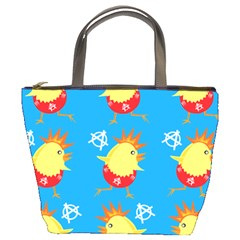 Easter Chick Bucket Bags