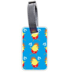 Easter Chick Luggage Tags (One Side)