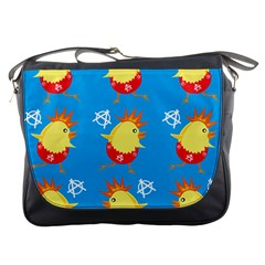 Easter Chick Messenger Bags