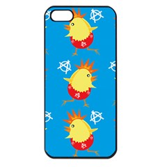 Easter Chick Apple iPhone 5 Seamless Case (Black)