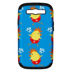 Easter Chick Samsung Galaxy S III Hardshell Case (PC+Silicone)