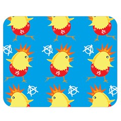 Easter Chick Double Sided Flano Blanket (Medium)