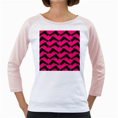 Pink Gun Girly Raglans