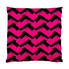 Pink Gun Standard Cushion Case (Two Sides)