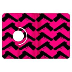 Pink Gun Kindle Fire HDX Flip 360 Case