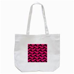 Pink Gun Tote Bag (White)