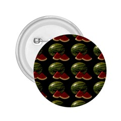 Black Watermelon 2.25  Buttons